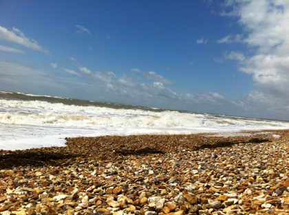 The wonderful sea of Dorset!